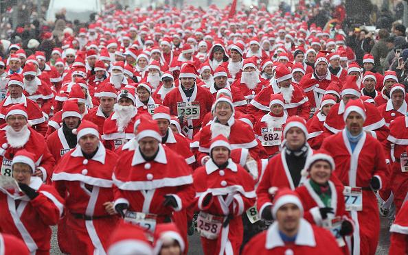 Participant「Annual Michendorf Santa Run」:写真・画像(0)[壁紙.com]