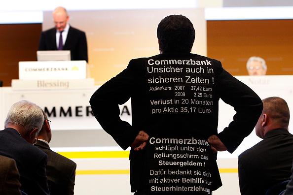 Corporate Business「Commerzbank Shareholders Meeting」:写真・画像(6)[壁紙.com]