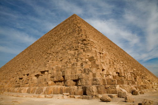 Ancient Civilization「Great Pyramid of Khufu (Cheops) at Giza.」:スマホ壁紙(1)