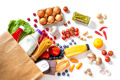 Food and Drink「Pepper bag full of groceries」:スマホ壁紙(9)