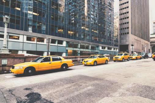 Park Avenue「NYC Cabs Park Avenue Manhattan New York」:スマホ壁紙(7)