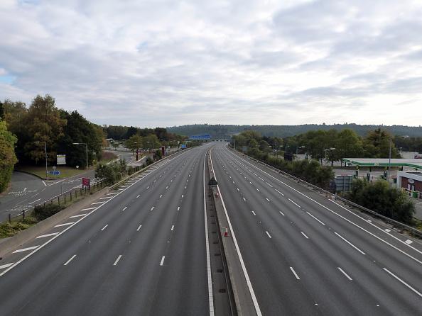 Blank「Deserted M27 Motorway Due To Closure For Bridge Demolition At Rownhams 2018.」:写真・画像(4)[壁紙.com]