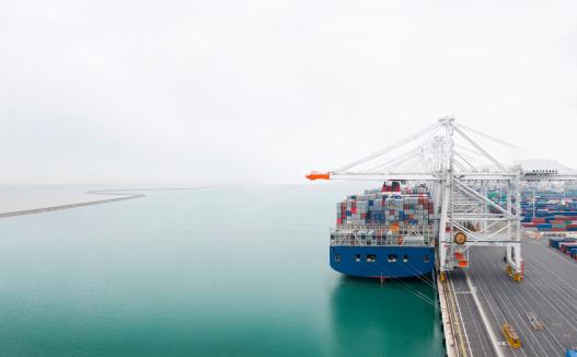 Pier「Container ship」:スマホ壁紙(2)