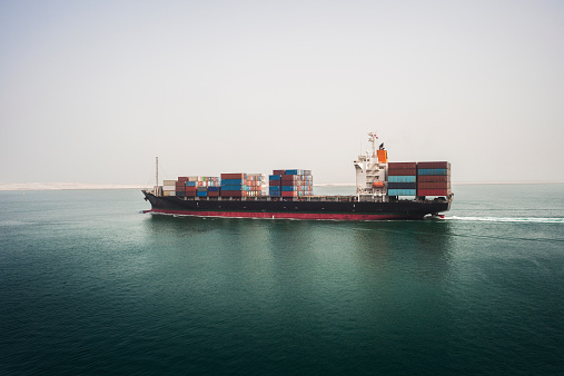 Nautical Vessel「Container ship」:スマホ壁紙(17)