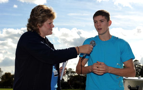 Boxer Luke Campbell「adidas London2012 adiZone Opening East Riding」:写真・画像(11)[壁紙.com]
