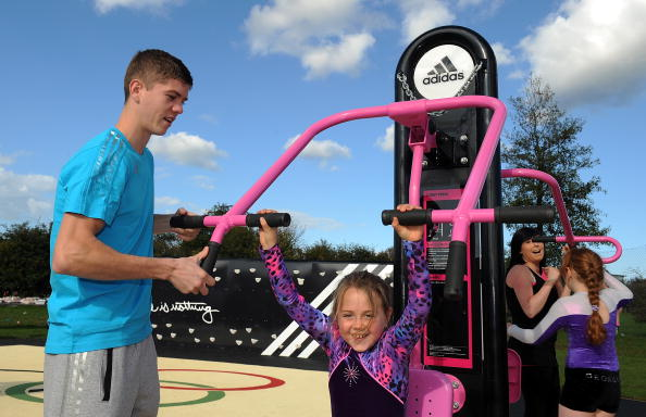 Boxer Luke Campbell「adidas London2012 adiZone Opening East Riding」:写真・画像(12)[壁紙.com]