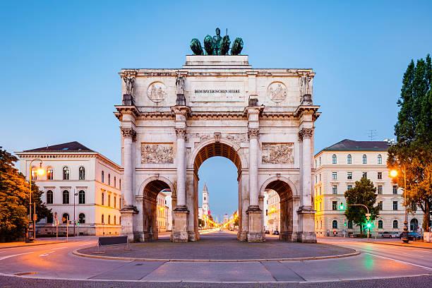 Siegestor, Munich:スマホ壁紙(壁紙.com)