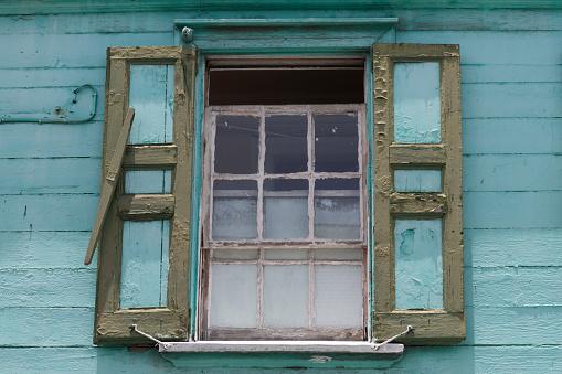 リーワード諸島 アンティグア「Window in traditional house in St John's」:スマホ壁紙(0)