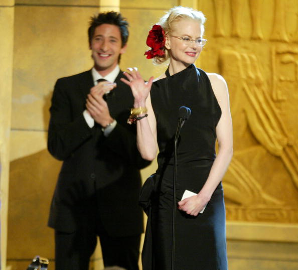 American Cinematheque Award「Nicole Kidman and Adrien Brody」:写真・画像(4)[壁紙.com]