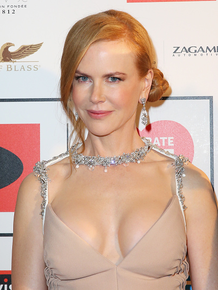 胸の谷間「Nicole Kidman Attends The Celebrate Life Ball In Melbourne」:写真・画像(14)[壁紙.com]