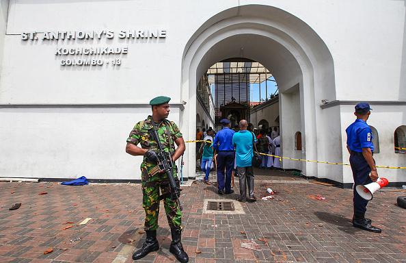 Sri Lanka「Multiple Explosions Hit Sri Lanka On Easter Sunday」:写真・画像(1)[壁紙.com]