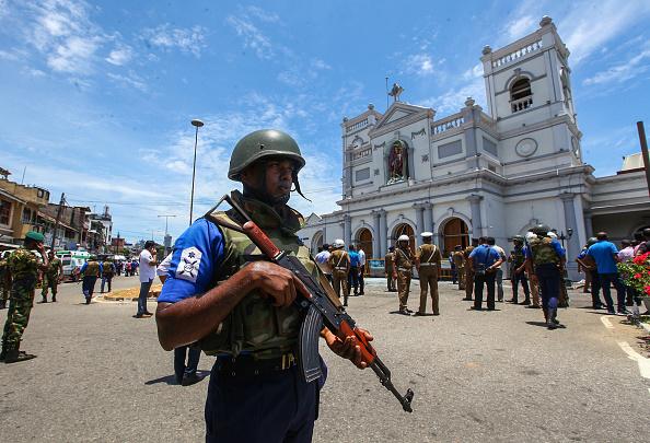 Bombing「Multiple Explosions Hit Sri Lanka On Easter Sunday」:写真・画像(8)[壁紙.com]