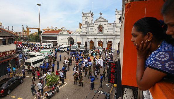 Sri Lanka「Multiple Explosions Hit Sri Lanka On Easter Sunday」:写真・画像(10)[壁紙.com]