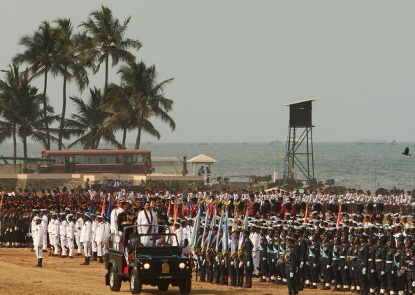 Sri Lanka「Sri Lankan Military March To Commemorate End Of Civil War」:写真・画像(9)[壁紙.com]
