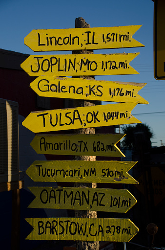 Yavapai County「Mileage Sign Post」:スマホ壁紙(11)