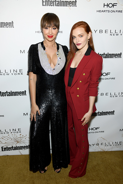 Black Jumpsuit「Entertainment Weekly Celebrates Screen Actors Guild Award Nominees at Chateau Marmont sponsored by Maybelline New York - Arrivals」:写真・画像(11)[壁紙.com]