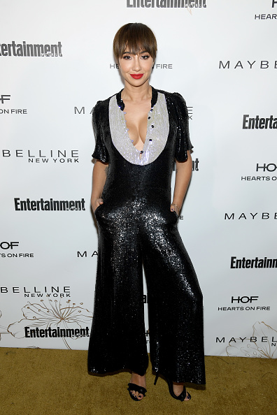 Black Jumpsuit「Entertainment Weekly Celebrates Screen Actors Guild Award Nominees at Chateau Marmont sponsored by Maybelline New York - Arrivals」:写真・画像(10)[壁紙.com]