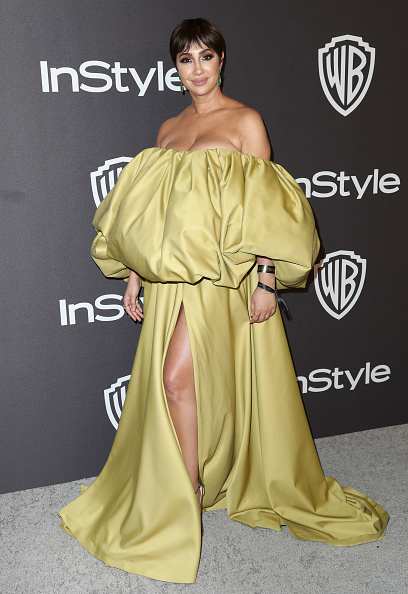 Yellow Dress「InStyle And Warner Bros. Golden Globes After Party 2019 - Arrivals」:写真・画像(9)[壁紙.com]