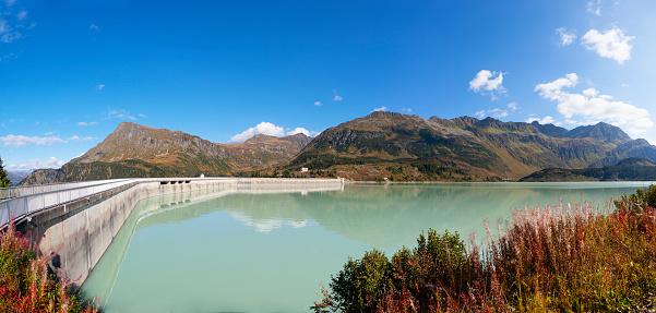 Galtur「Austria, Vorarlberg, dam wall of Kops reservoir」:スマホ壁紙(15)
