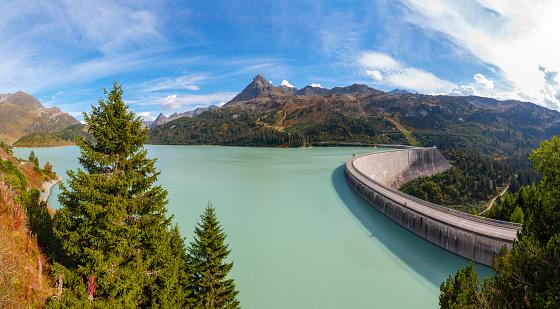 Galtur「Austria, Vorarlberg, dam wall of Kops reservoir」:スマホ壁紙(14)