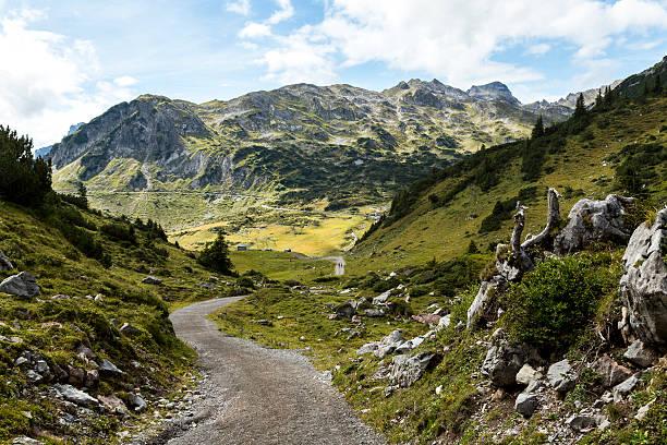 Austria, Vorarlberg, Lechtal Alps, trail:スマホ壁紙(壁紙.com)
