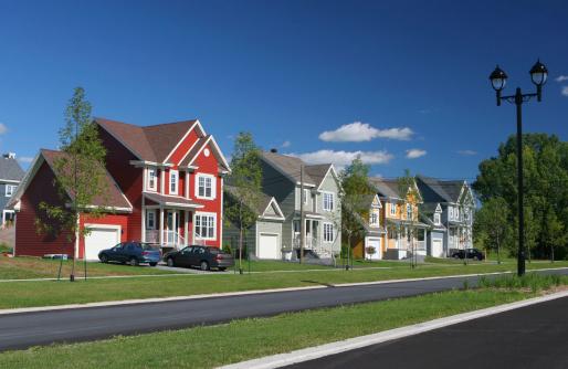 Design「Colorful Suburban Homes」:スマホ壁紙(0)