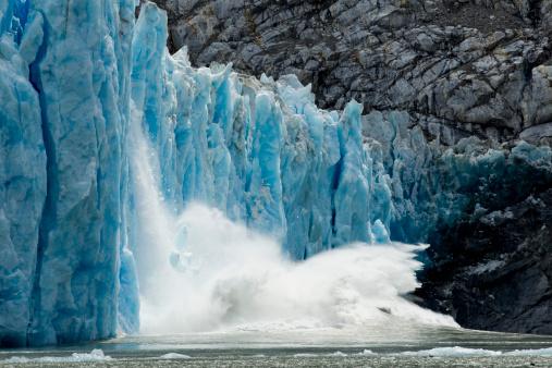 Natural Column「Calving Dawes Glacier, Alaska」:スマホ壁紙(11)