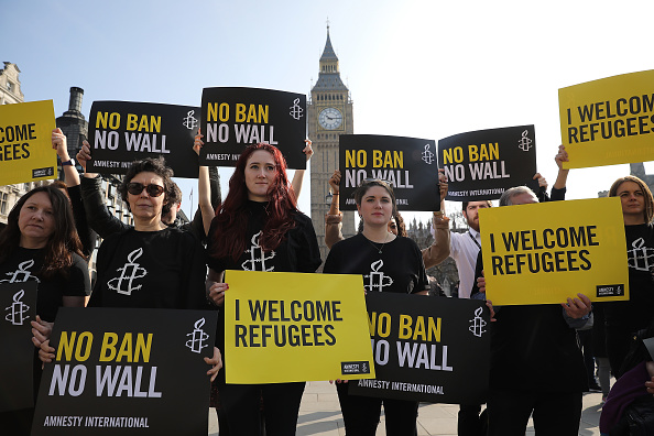 Forbidden「Amnesty International Organise Flash Mob Protests Against Trump's Travel Ban」:写真・画像(7)[壁紙.com]