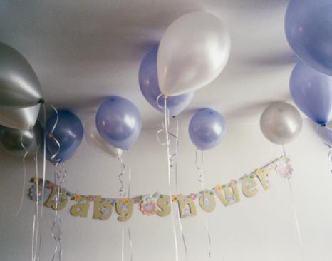 Baby Shower「Balloons on Ceiling」:スマホ壁紙(10)