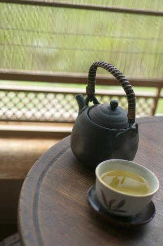 Japan「A green tea and tea pot 」:スマホ壁紙(13)