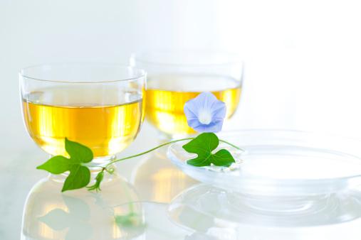 朝顔「Green tea and morning glory」:スマホ壁紙(18)