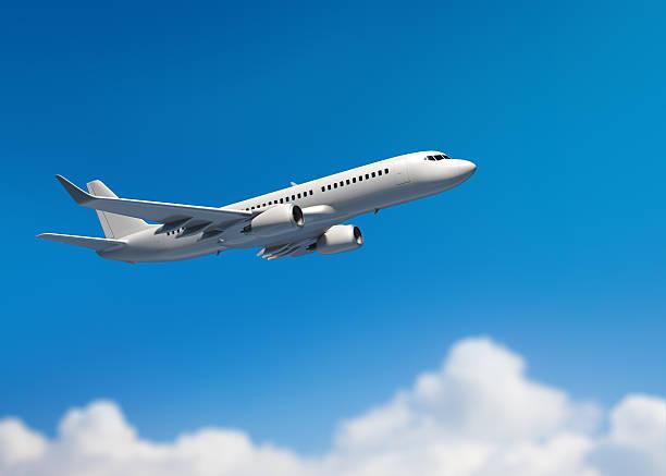 White mid-sized passenger jet airplane:スマホ壁紙(壁紙.com)