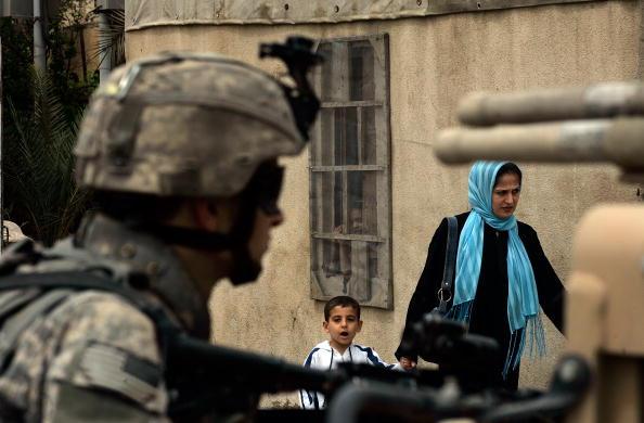Daniel Gi「U.S. Army's 82nd Airborne Patrols Baghdad」:写真・画像(12)[壁紙.com]