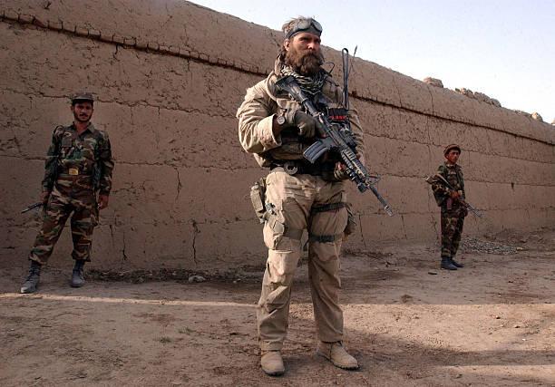 U.S. Special Forces in Northern Afghanistan:ニュース(壁紙.com)