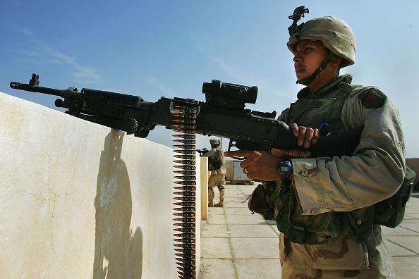 Infantry「U.S. Assault On Fallujah Continues」:写真・画像(8)[壁紙.com]