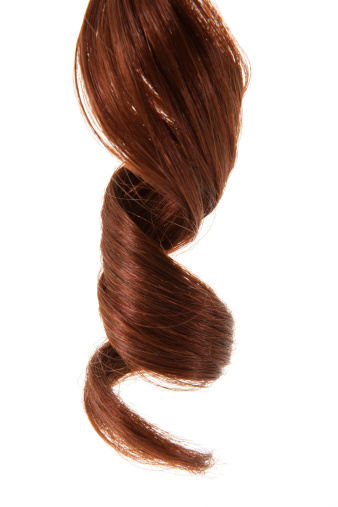 Brown Hair「Curly hair, close-up of ringlet」:スマホ壁紙(0)
