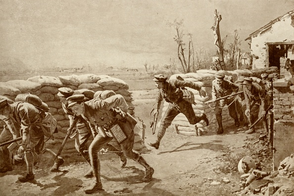 "Hiding「A Sporting Chance:: British Soldiers ""Making A Dash For It""」:写真・画像(17)[壁紙.com]"