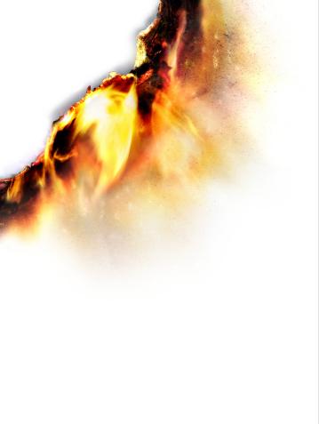 Burning「Burning paper, close-up (Digital Enhancement)」:スマホ壁紙(13)