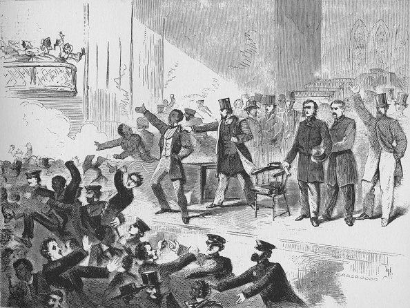 Meeting「William Lloyd Garrison Trying To Hold A John Brown Anniversary Meeting In Tremont Temple, Boston,」:写真・画像(2)[壁紙.com]