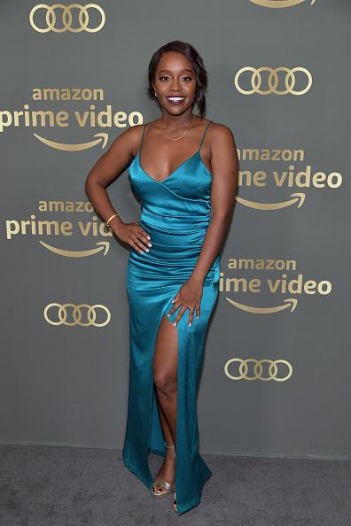 Metallic Shoe「Amazon Prime Video's Golden Globe Awards After Party - Arrivals」:写真・画像(13)[壁紙.com]