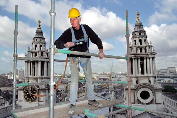 Scaffolding「Saint Pauls Cathedral. London, United Kingdom.」:写真・画像(16)[壁紙.com]