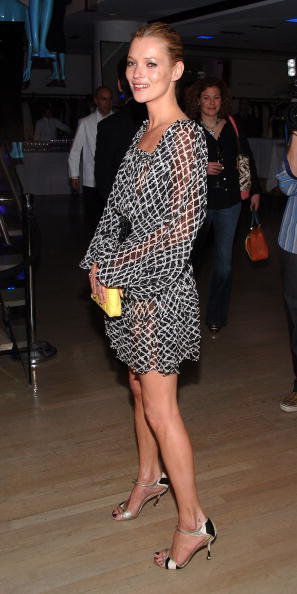 Strappy Shoe「Kate Moss Launches TopShop At Barneys New York」:写真・画像(1)[壁紙.com]