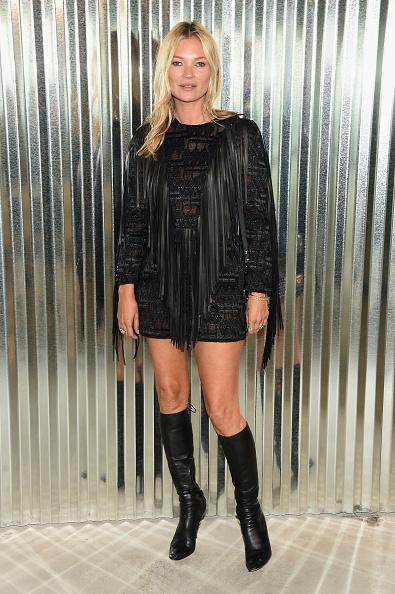Kate Moss「Longchamp - Front Row - September 2018 - New York Fashion Week」:写真・画像(15)[壁紙.com]
