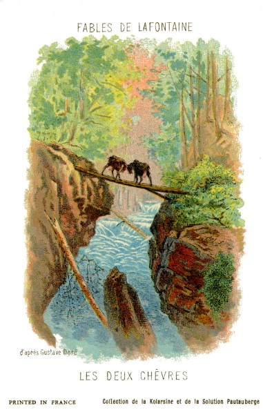 Fairy Tale「The Two Goats - fable by La Fontaine」:写真・画像(11)[壁紙.com]