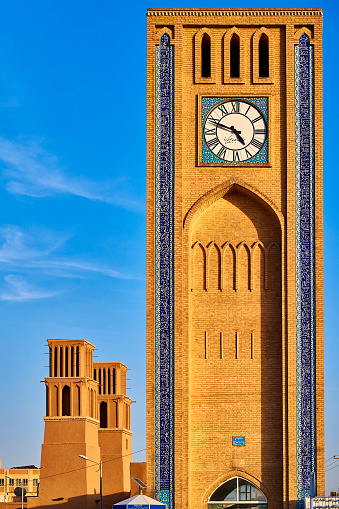 Iran「Clock Tower, Yazd, Iran」:スマホ壁紙(18)