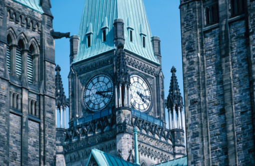 Legislation「Clock tower at Parliament Hill , Ottawa , Ontario , Canada」:スマホ壁紙(16)