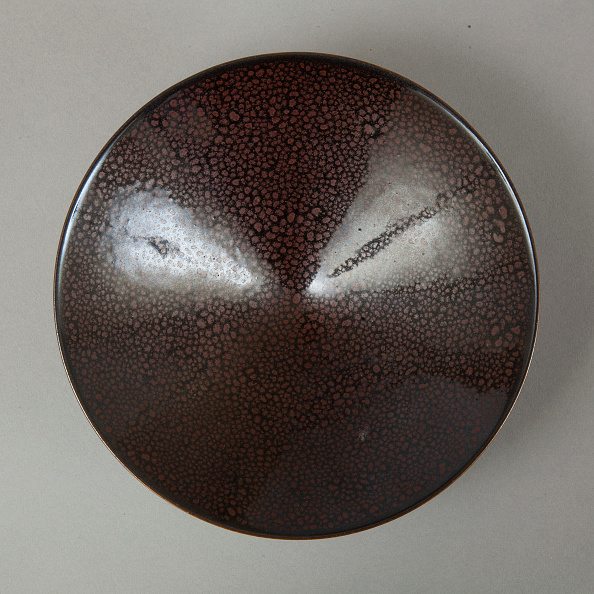 Crockery「Conical Cizhou-type bowl with spotted iron-rust décor, 1980s」:写真・画像(6)[壁紙.com]