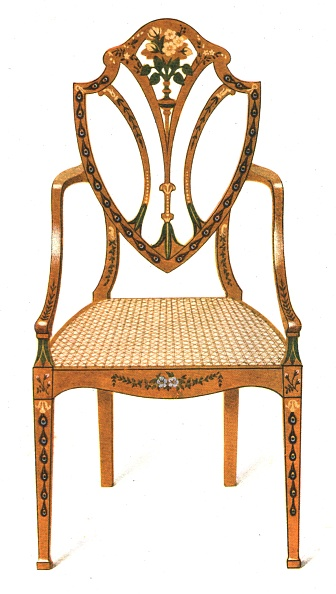 Ornate「Painted Satin-Wood Chair」:写真・画像(9)[壁紙.com]
