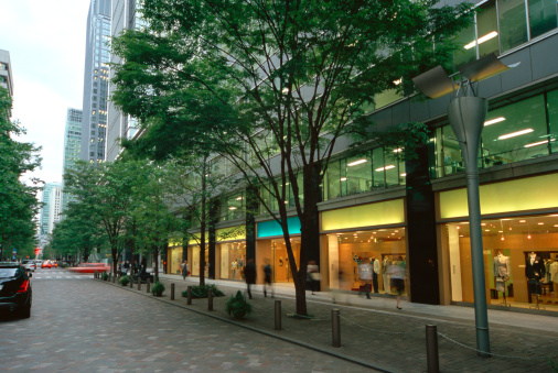 Car「Marunouchi business district, Tokyo, Japan」:スマホ壁紙(15)