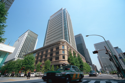 Marunouchi「Marunouchi business district, Tokyo, Japan」:スマホ壁紙(14)